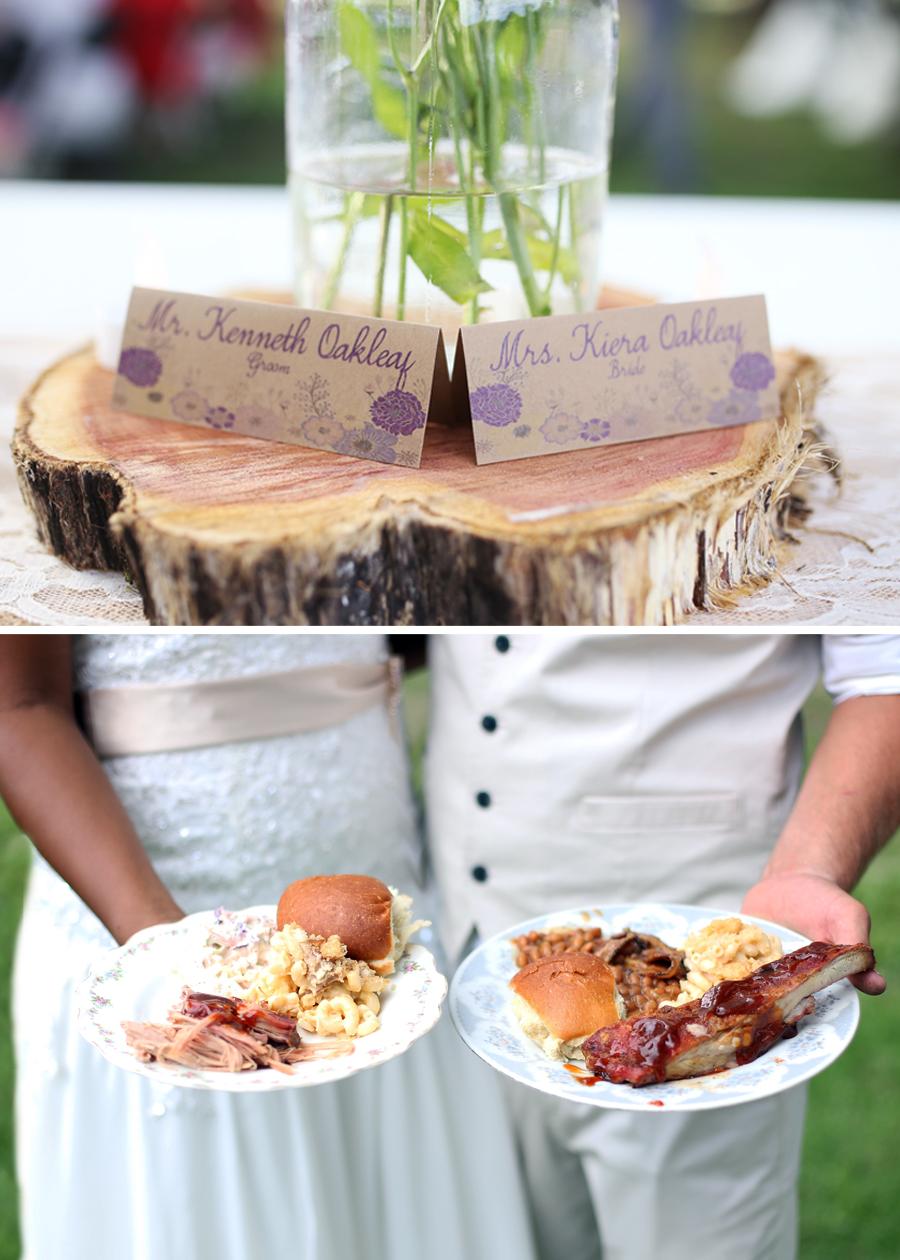mr and mrs oakleaf classy u0026 country backyard wedding